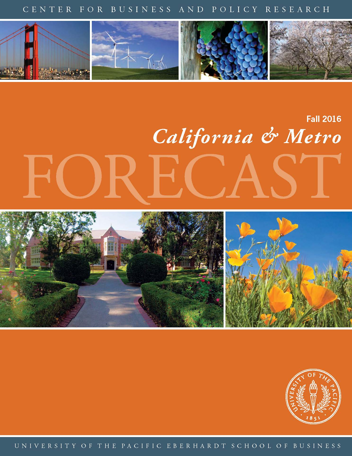 California and Metro Forecast Cover
