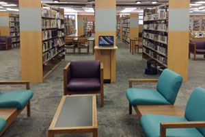 Furniture at Lodi Public Library