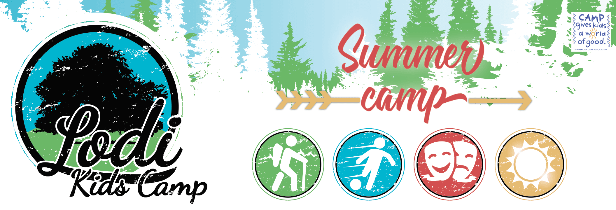 Kids Camp Header Summer